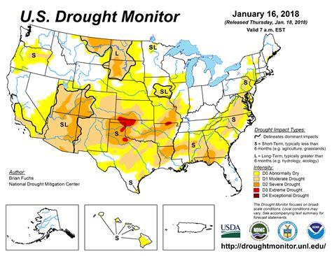 map us drought drought usda