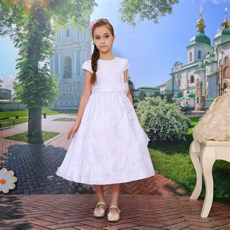 Fr Dress Giovany Kid Dress Anak cap sleeve gown plus size clothing wholesale flower dresses buy