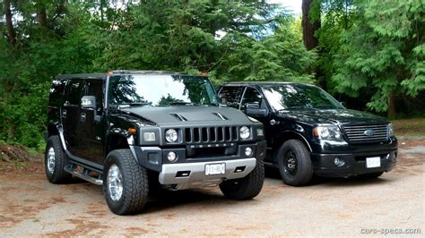hummer h2 engine size 2003 hummer h2 suv specifications pictures prices