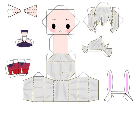 Papercraft Bunny - battle bunny riven papercraft by majesticbananan on deviantart