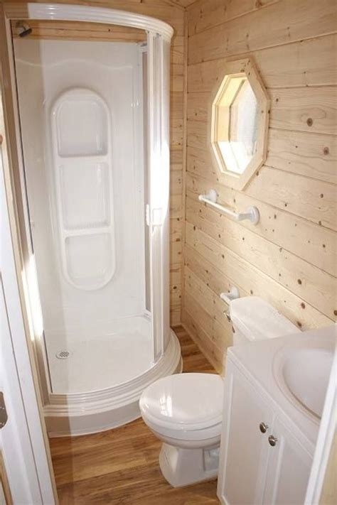 Tiny Bathrooms With Shower Tiny House Bathroom Tiny Homes Tiny House On Wheels Window And House On Wheels