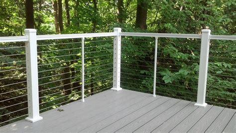 Back Splash Ideas by Stainless Steel Cable Railing Systems Popular Railing