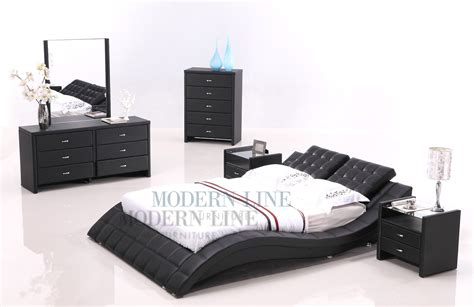 platform bedroom sets king also modern size interalle com about wave king size modern design white leather platform bed