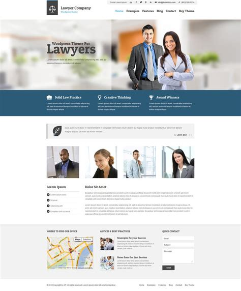 html5 themes adaptive wp lawyer by ait themes on deviantart