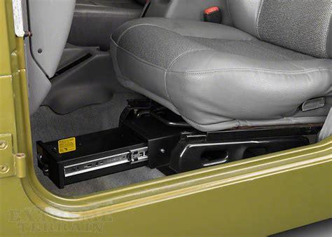 seat gun safe jeep wrangler vehicle gun storage best storage design 2017