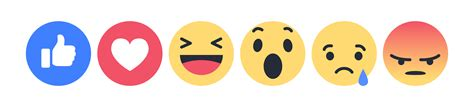 fb reacts наклейка facebook angry png avatan plus