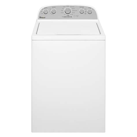 whirlpool 4 3 cu ft high efficiency top load washer in