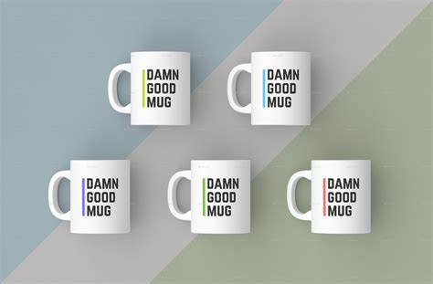 mug design mockup mugs mockups pack by bulbfish graphicriver