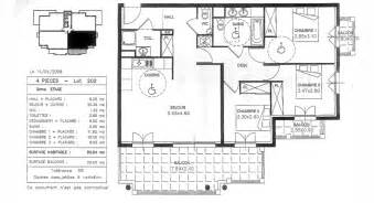 plan appartement 80m2 3 chambres