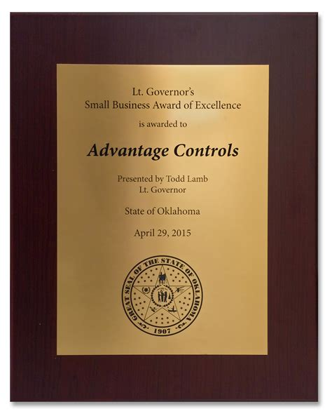 advantage controls awards  recognition industrial water treatment controllers chemical