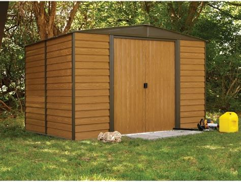 Contemporary Storage Shed Arrow Shed Woodridge 10 X 6 Ft Steel Storage Shed Wr106