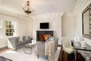 Living Room With Work Desk Richard Granoff Manor Luxury Topics Luxury Portal