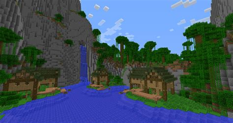 Minecraft Treehouse Videos - just a simple village in jungle minecraft