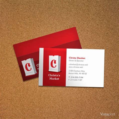 Vistaprint Business Card Design