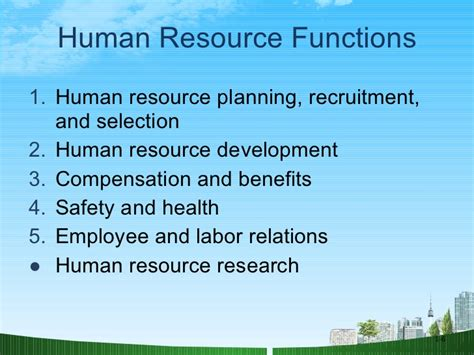 Hrm Ppt For Mba by Hrm A Strategic Function Ppt Mba
