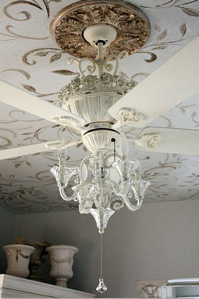 bedroom chandeliers with fans 25 best ideas about painted ceiling fans on