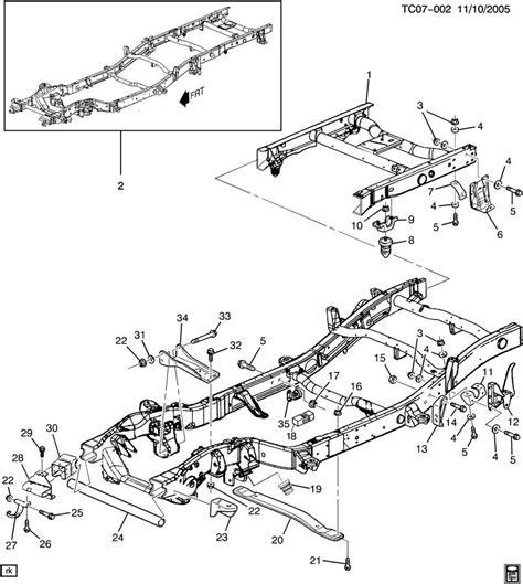 chevrolet truck parts diagram chevy silverado and gmc rear bumper rust car