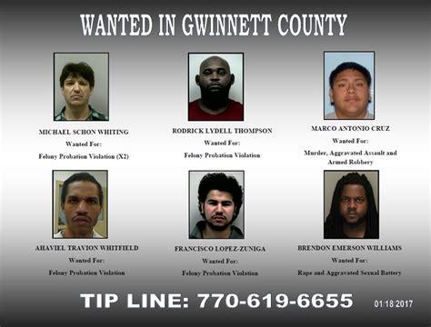 Gwinnett County Probation Office by Wanted In Gwinnett Sheriff S Office Searching For 6