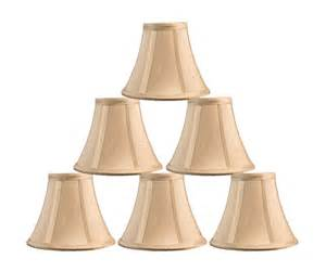 Urbanest chandelier mini lamp shade softback bell silk 3 quot x6 quot x5 quot taupe