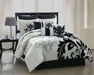Black Set Black White Bedding Sets Cozybeddingsets