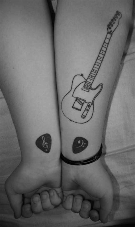 guitar pick tattoo best 25 guitar ideas on