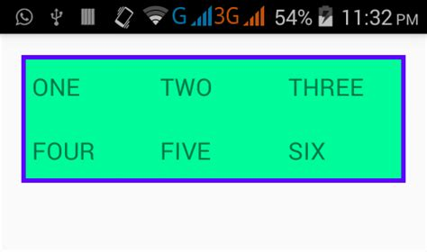 grid layout border how to set add border around gridview in android android