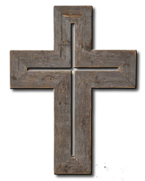 Home Decor Crosses by Barnwood Rustic Cross