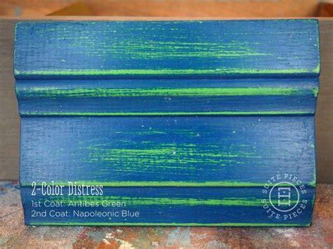 suite pieces 2 color distress with chalk paint 174 lots of