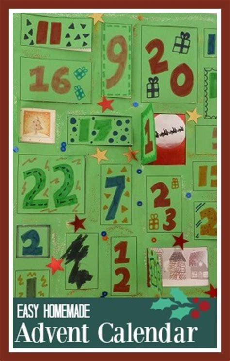 easy to make advent calendar s world parenting craft and travel