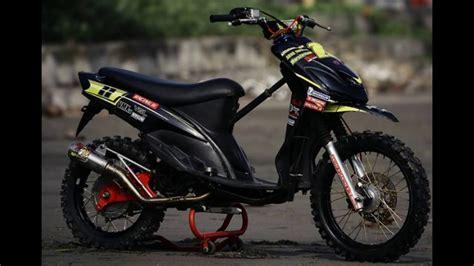 Modif Mio Sporty Touring by 100 Gambar Motor Mio Modif Keren Terbaru Dan Terlengkap