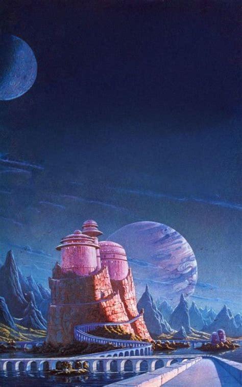 sci fi fantasy art 0957664990 observadorcosmico brian waugh last castle 70s sci fi art castles