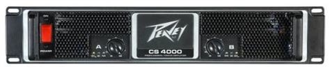 Power Lifier Peavey Cs4000 peavey cs4000 4000w power lifier