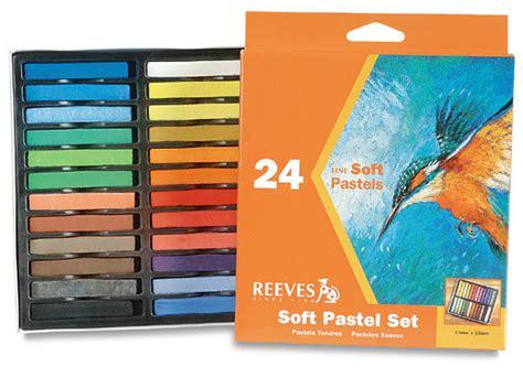 Reeves Soft Pastels 24 Pcs Berkualitas reeves soft pastels blick materials