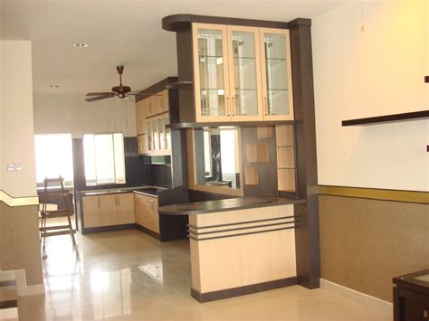 Kitchen Partition From Living Room Home Combo Design