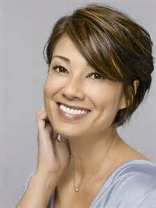 hairstyles for thinning hair 55 high forehead short hairstyles for women with curly hair hairjos com
