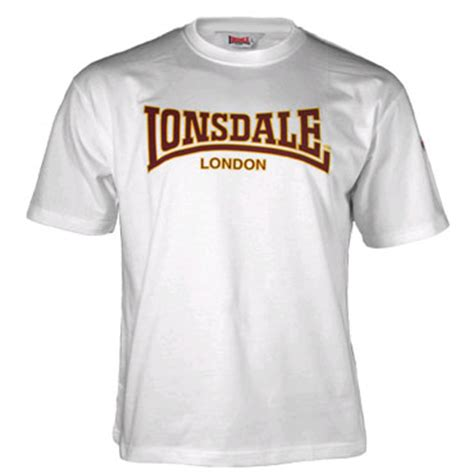 Lonsdale T Shirt lonsdale classic t shirt white 110569 lonsdale