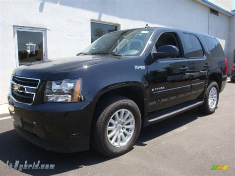 electric and cars manual 2009 chevrolet tahoe on board diagnostic system 2009 chevrolet tahoe hybrid 4x4 in black 104985 lehybrid com hybrid cars gasoline electric