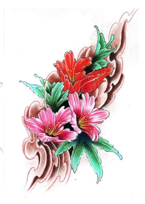 tattoo flower flash tattoo flash flower tattoo pinterest
