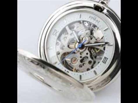 s silvered luxury semi automatic mechanical
