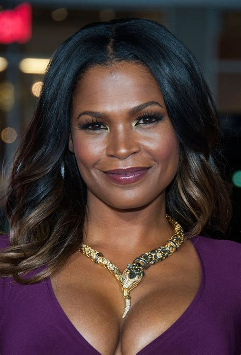 picture of highlights in african american women hair tbmh premiere nia long blackfilm com read blackfilm