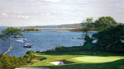 golf courses in cape cod woods golf club print cape cod prints paintings