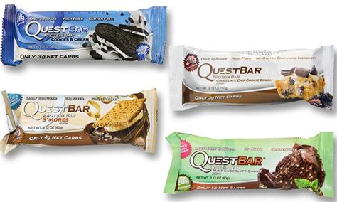 sle of quest bars quest nutrition protein bars groupon goods