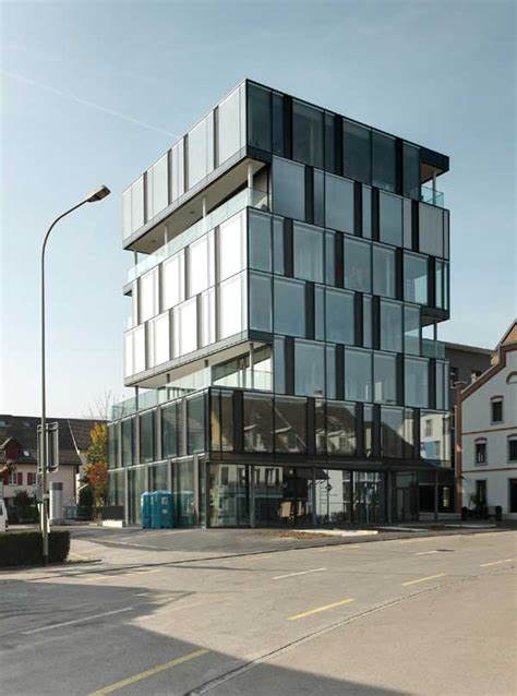 swiss houses residential buildings switzerland  architect