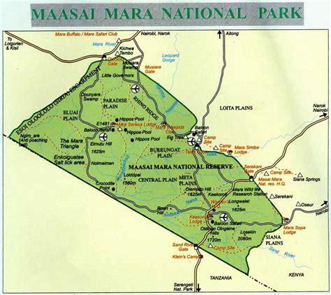 cimo service kenya cartina masai mara