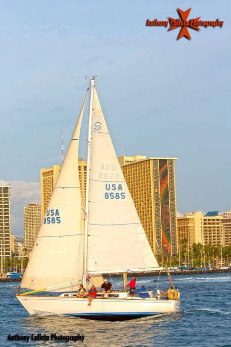 sailboats oahu honolulu sailboat races waikiki yacht club