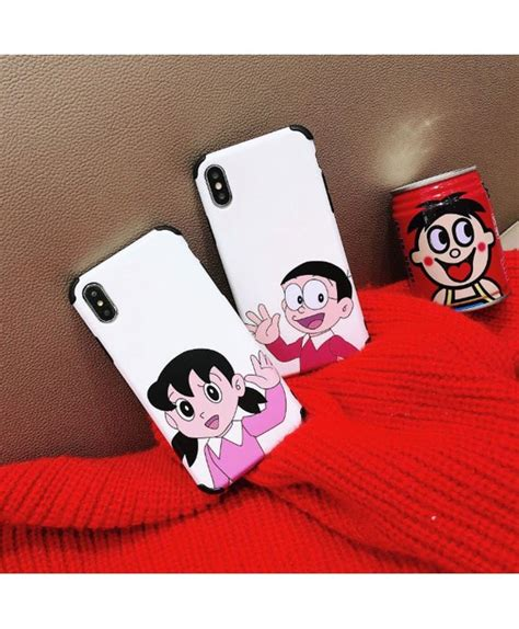 doraemon nobi minamoto boyfriend  girlfriend iphone