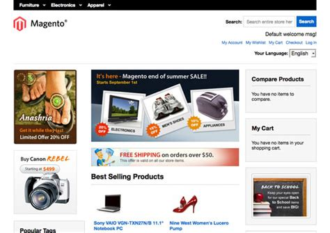 13 best free responsive magento themes templates in 2014