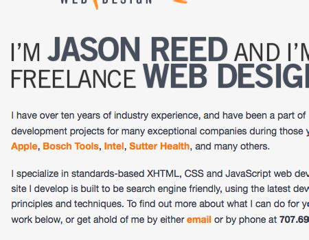Introduction Letter Freelance Graphic Designer Welcoming And Informative Introductions In Web Design Smashing Magazine