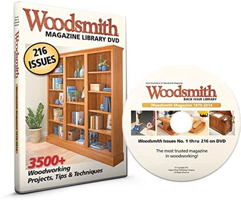 woodsmith magazine back issue library dvd selling buy now