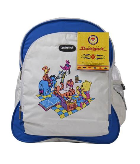 duckback michel blue baby school bag buy duckback michel